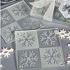 Snowflake Glass Coasters