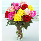Mixed Color Roses Bouquet