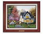 Thomas Kinkade Personalized Your Own Home Canvas Art Print