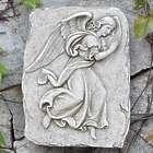 Elegant Angel Garden Plaque
