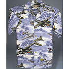 Hawaiian Airplane Shirt