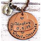 New Mom's Little Miracle Hand Stamped Personalized Necklace