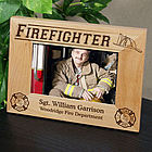 Personalized Firefighter Frame