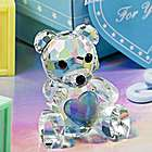 Choice Crystal Collection Blue Teddy Bear Baby Shower Favor