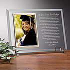 As You Leave For College Reflections Frame