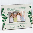 Irish Blessings Personalized Picture Frame