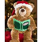 Recordable Christmas Story Reading Teddy Bear