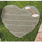 Rainbow Bridge Poem Memorial Stepping Stone for Your Pet