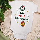 My 1st Christmas Personalized Ornament Infant Creeper