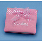 Grandma Brag Book in Pink