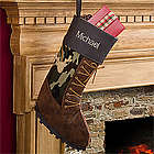 Personalized Christmas Stockings for Hunters