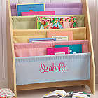 Pastel Little Reader's Personalized Sling Bookcase