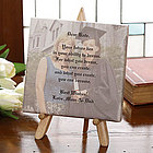 Graduation Sentiments Photo Canvas Art