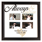 Personalized Always and Forever Photo Frame