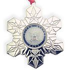 Personalized US Navy Military Service Christmas Ornament