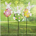 Easter Bunny Yard Stake Set