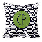 Personalized Initial Nantucket Pillow