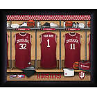 Personalized Indiana Hoosiers Basketball Locker Room Print