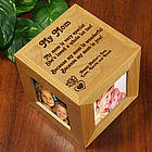 Personalized Mothers Day Photo Cube