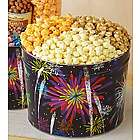 Fireworks 2 Gallon 3 Flavor Popcorn Tin