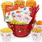 Popcorn Bowl and Snacks