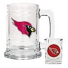 Arizona Cardinals Shot Glass and Mug Set