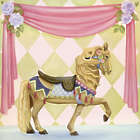 Carousel Horse Wall Art Canvas Reproduction