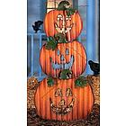 Stack-O'-Jack-O'-Lanterns Yard Decoration