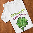 Personalized Grandma's Lucky Charms T-Shirt
