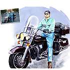 Personalized Harley Davidson Artwork from a Photo