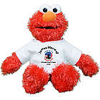 Personalized Land of the Free Military Elmo Doll