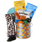 Kitty Cat Treats and Toys Gift Basket