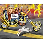 Hell on Wheels Caricature from Photos