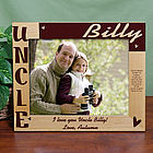 Large Personalized Uncle Picture Frame
