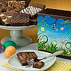 One Dozen Easter Brownies