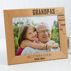 Wonderful Grandpa Personalized Photo Frame