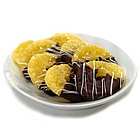 Dark Chocolate Dipped Glace Pineapple