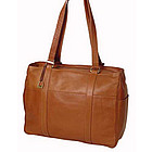 Large Leather Shopping Bag