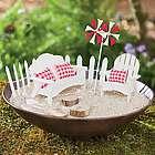 Miniature Fairy Beach Furniture Garden