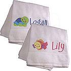 Splish Splash Kids Personalized Beach Towel