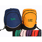 Tri-Color Personalized Backpack