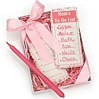Mom's To Do List Cookies with Food Safe Pen