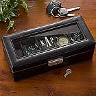 Monogram Leather Watch Box