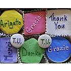 Thank You Decorated Sugar Cookies