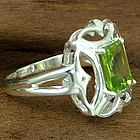 'Reverie' Peridot Cocktail Ring