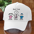"""You & Me"" Personalized Baseball Cap"
