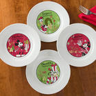 Personalized Disney Christmas Plate