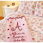 Personalized Dot Baby Blanket