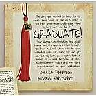 Personalized Ways To Say It Graduate Canvas