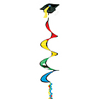 Graduation Wind Spinner